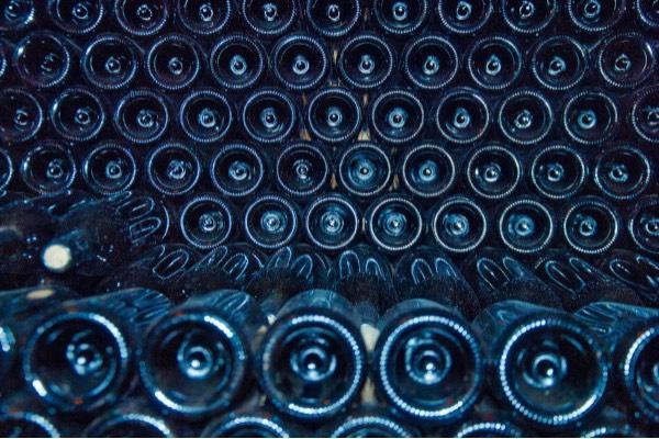 gestione delle bottiglie da collezione