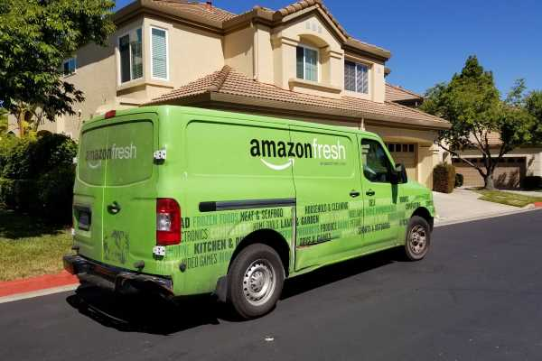Arriva Amazon Fresh a Roma per il food delivery