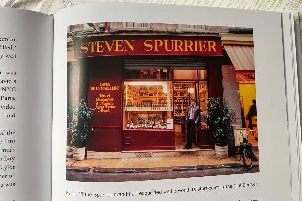 Un libro di Steven Spurrier, A life in Wine